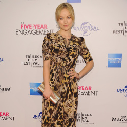 Olivia Wilde in Yigal Azrouel