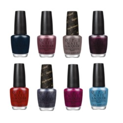 Some of the colours from the new OPI collection