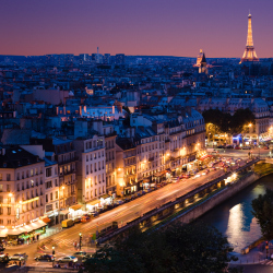 Paris has a number of famous landmarks