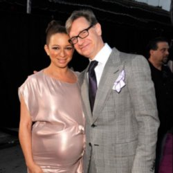 Paul Feig with Maya Rudolph