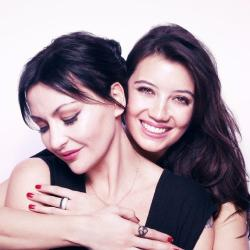 Pearl Lowe and daughter Daisy