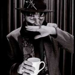 Pete Doherty - 'Mmm, this tea could do with a bagel'