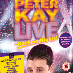 Peter Kay Live & Back on Nights! Blu-Ray