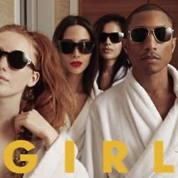 Pharrell Williams - 'G I R L'