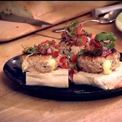 Phil Vickery's Turkey Burger Recipe