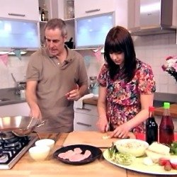 Phil Vickery's Vietnamese Pho with Turkey and Rice Noodles