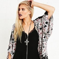 Festival fashion at Urban Outfitters is edge, grungy and a little bit Gothic.
