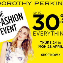 Shop The Dorothy Perkins Fashion Event