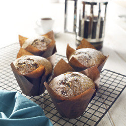 Poppy Seed and Raspberry Muffins