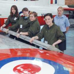 RAF Engineering: A Brighter Future for Teenage Girls