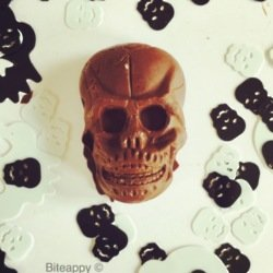 Caroline Oldham's Raw Chocolate Skulls