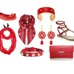 Shop our pick of red accessories