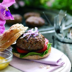 Thai Recipes: Red Thai Lamb Burger