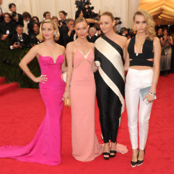 Stella McCartney at the Met Ball with Reese Witherspoon, Kate Bosworth and Cara Delevingne