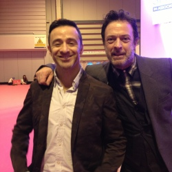 Ren Pearce and Andrew Fionda at the Clothes Show Live