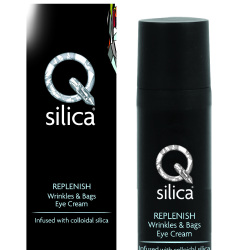 Qsilica REPLENISH Wrinkles & Bags Eye Cream