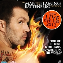 Rhod Gilbert - The Man With The Flaming Battenberg Tattoo Live DVD