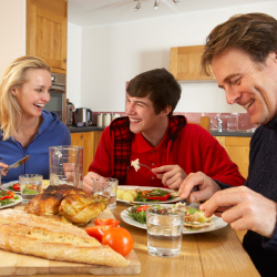 Family meal times are important for your child's development