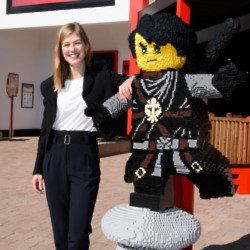 Rosamund Pike at Legoland