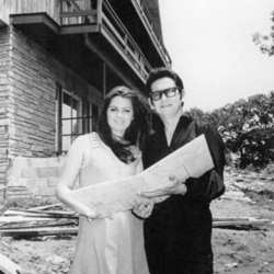 Roy and Barbara Orbison in the 1970's