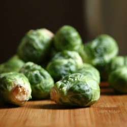 Eat lots of brussel sprouts