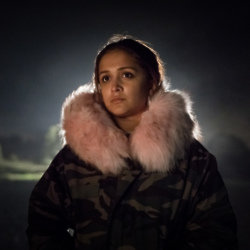 Amy-Leigh Hickman stars as Sia in new Netflix series Safe