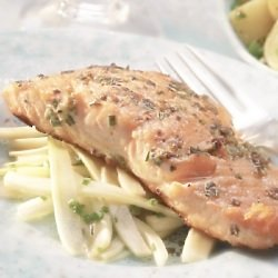 Healthy Recipes: Grilled Salmon with Fennel Salad