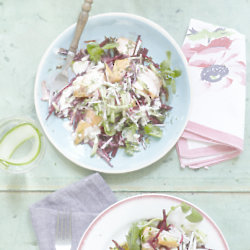 Hot Smoked Salmon Salad With Beetroot And Horseradish - Credit Georgia Glynn Smith