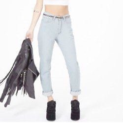 Jeans inspired by music and fashion icons at Missguided.