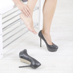 Follow these tips for comfortable heels