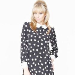 How cute is this star-print dress?