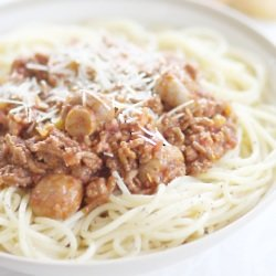 Canned Food Week: Spaghetti Bolognese Recipe