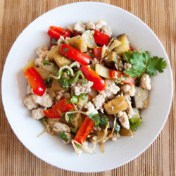 Spicy Turkey Stir Fry