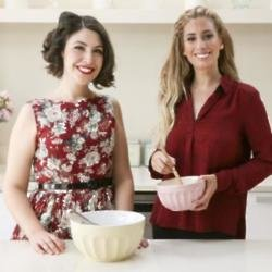 Stacey Solomon with Emily Leary
