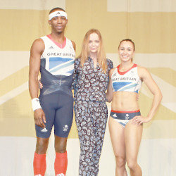 Stella with the Olympic hopefuls