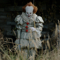 Bill Skarsgård stars as Pennywise the clown