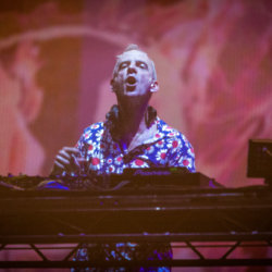 Fatboy Slim will return to the Creamfields stage / Credit: Steven Brown/FAMOUS