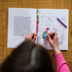 We find out what it means to dream about a colouring book