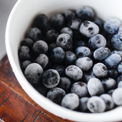 Frozen berries make a healthy dessert once defrosted