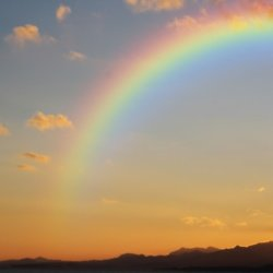 We find out what it means to dream about a rainbow