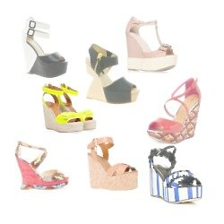 Wedges are the perfect shoe for summer