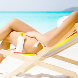 Sun bathing can top up your vitamin D levels