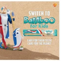 Aquafresh switch to bamboo for kids