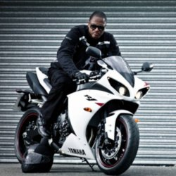 Taio Cruz Riding A Bike