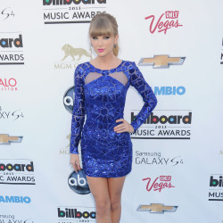 Taylor Swift looks stunning in Zuhair Murad