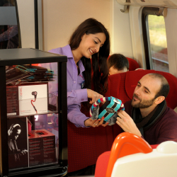 Technology Trolley - East Midlands Rail Service