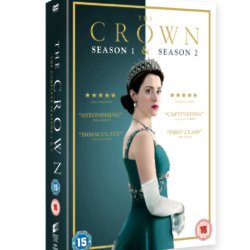 Win a copy of The Crown Seasons 1-2 on DVD box set