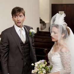 David Tennant & Kelly MacDonald In The Decoy Bride
