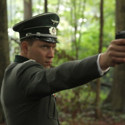 Jai Courtney stars as Nazi captain Stefan Brandt