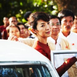 Michelle Yeoh in The Lady